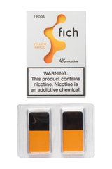 Картридж Fich Pods Cartridge Yellow Mango 2 шт